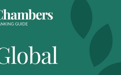 Uvrstitev na lestvico Chambers & Partners Global 2020