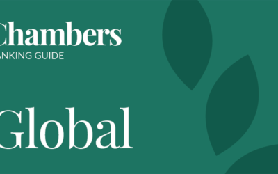We are ranked in Chambers Global guide for 2019