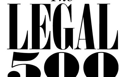 We are ranked in The Legal 500
