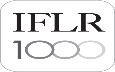 We are ranked in the IFLR 1000